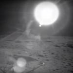 Zo ziet de zon op de maan er niet uit. Maanlandingen fake.