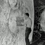 Hier wordt aan de nep-maan gewerkt. Maanlandingen fake.